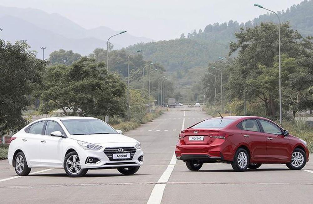 Phân khúc xe Hyundai