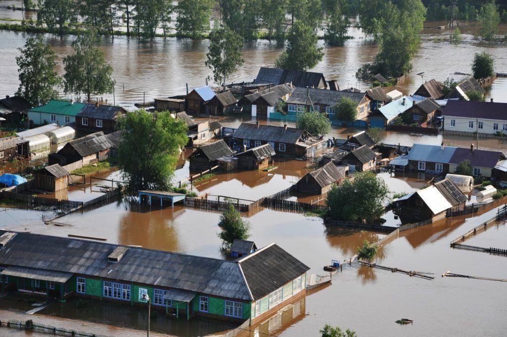 Chiêm bao thấy lũ lụt