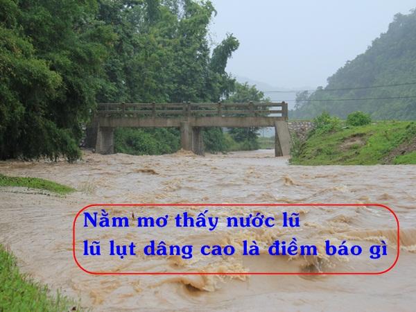 Chiêm bao thấy lũ lụt là điềm báo gì