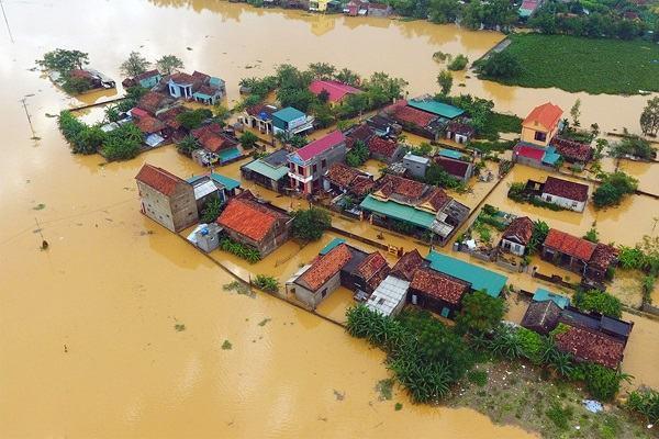 Chiêm bao thấy lũ lụt nhấn chìm đường phố nhà cửa