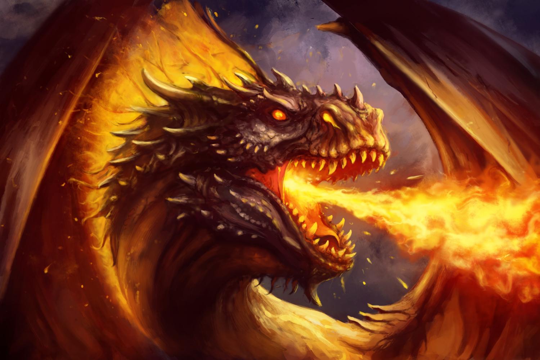 Nằm mơ thấy rồng phun lửa