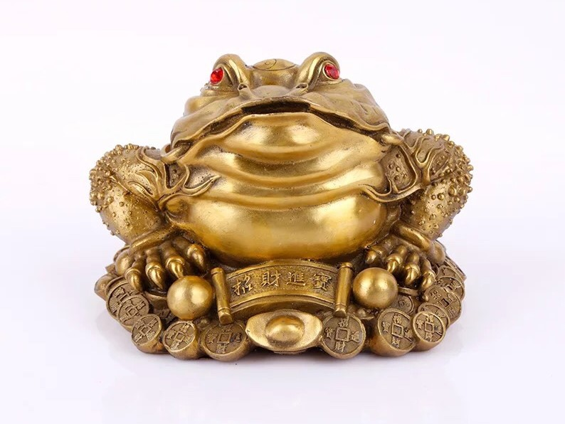 Linh vật Thiềm Thừ (Cóc ngậm tiền vàng)