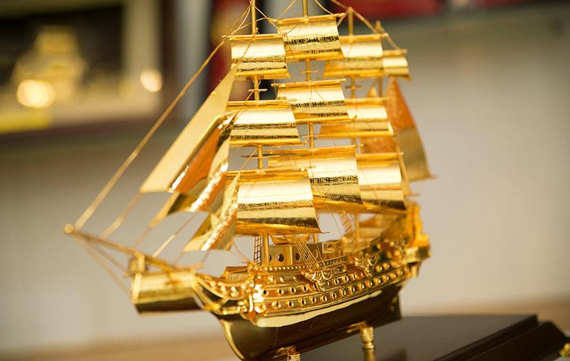 Thuyền buồm phong thủy – biểu tượng may mắn giàu có