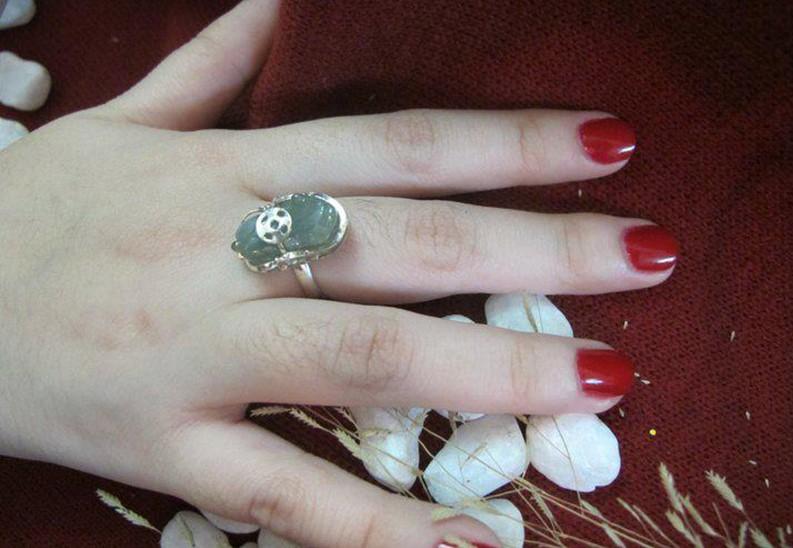 Cách đeo nhẫn Tỳ Hưu