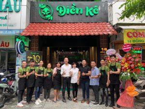 quán ếch quận 10