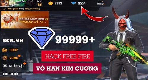 hack kim cương free fire